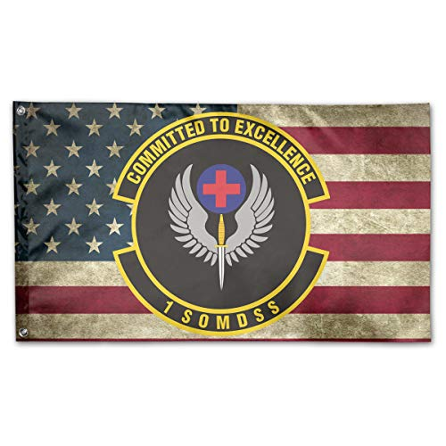 AERYUHPP 1st Special Operations Medical Support Squadron Garden Flag Garden Decor Decorative Flags Holiday Flag -