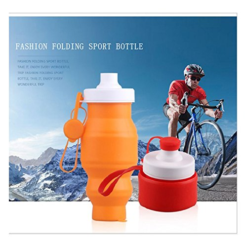 Idealplast Collapsible Sports Water Bottle Multifunctional S