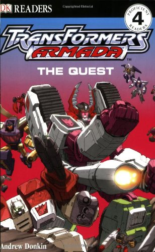Read Online Transformers Armada: The Quest (DK READERS) pdf epub