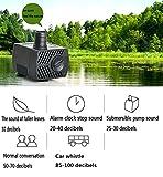 jin 12V Micro AC Submersible Pump Mini Fish Tank