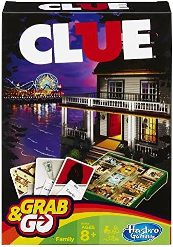 Hasbro Gamings - Cluedo Viaje, Grab & go (versión Inglesa): Amazon.es: Juguetes y juegos