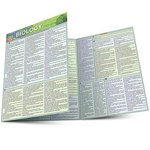 Biology Terminology (Quick Study Academic) (Biology Charts)