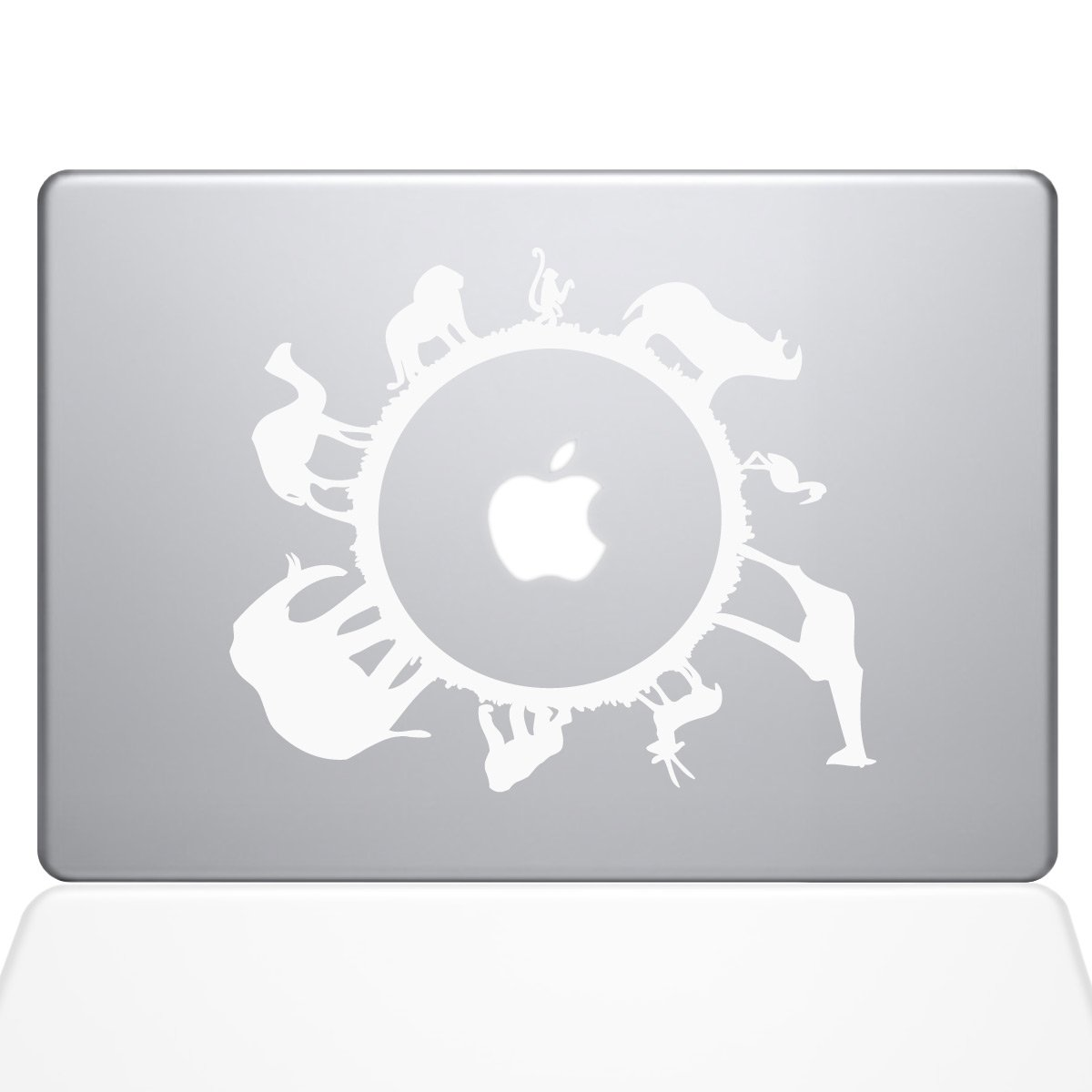 The Decal Guru Animal Planet MacBook Decal Vinyl Sticker - 13'' MacBook Air - White (0193-MAC-13A-W)