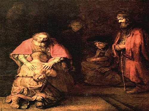 Harmensz Van - Rembrandt - The Return of the Prodigal Son