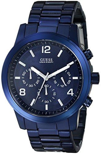 GUESS-Mens-U0123G3-Blue-Iconic-Chronograph-Watch