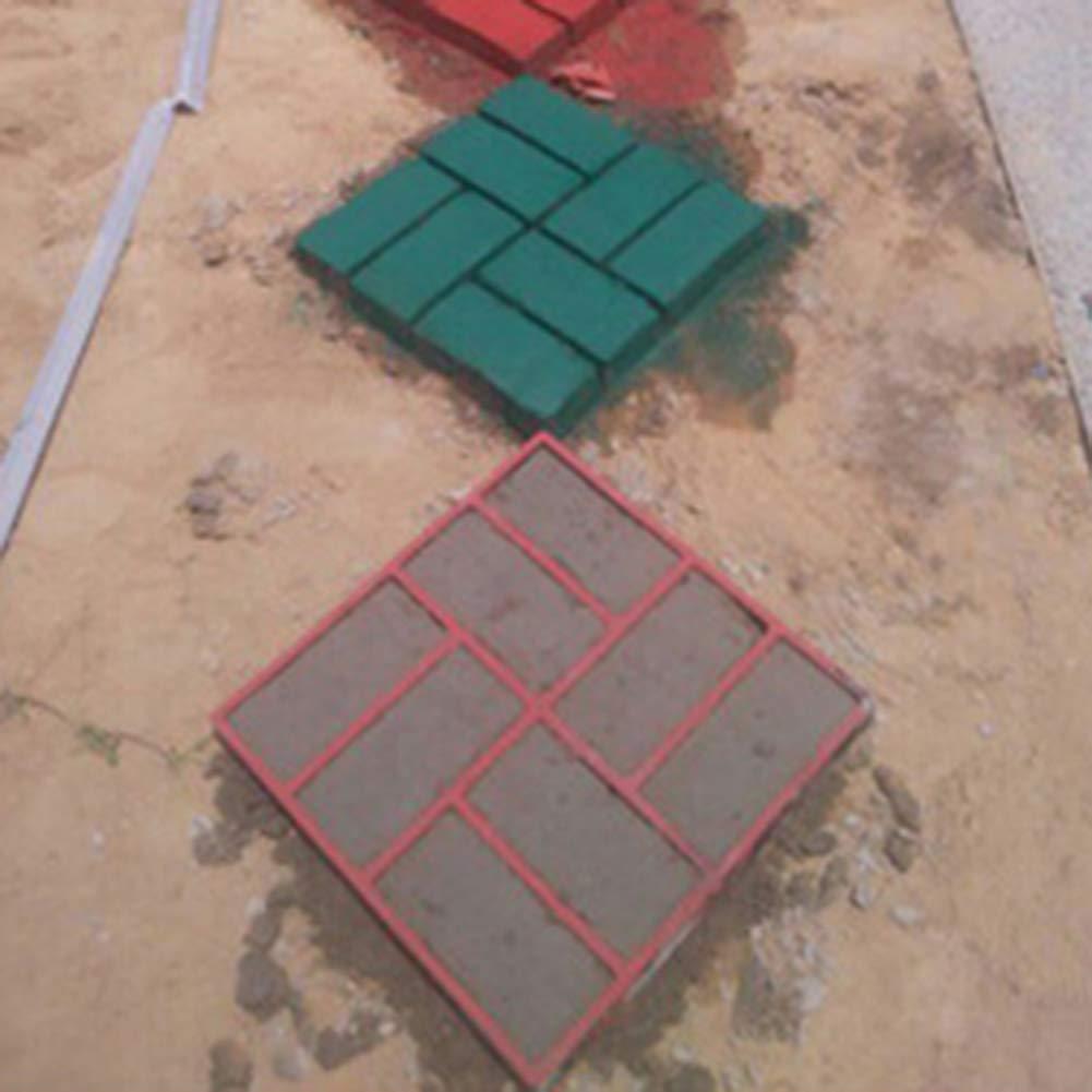 obiqngwi Creatore delle Strade di Pietra Mattone Cemento Pavimento Muffa della Pavimentazione del Giardino della Pavimentazione Nero 1