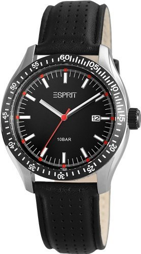 Esprit Men's Quartz Watch A.ES102871002 A.ES102871002 with Leather Strap