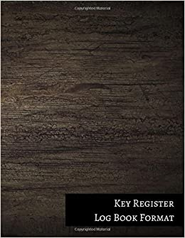 key register log book format journals for all 9781521315019