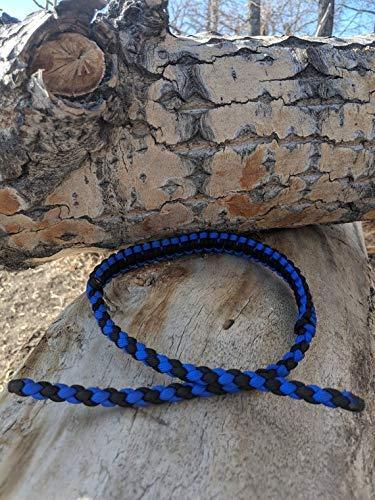 Blue and Black Bow Wrist Sling Custom Archery Accessories
