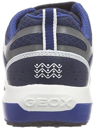 Geox J Asteroid Boy B, Zapatillas de Gimnasia Para Niños Gris (Navy / Avio C0700)