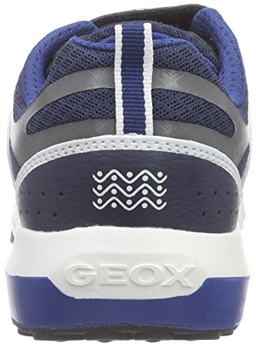 Geox J Asteroid Boy B - Zapatos primeros pasos para bebés Blu (Navy/Avio)