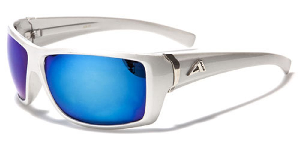 Arctic Blue Sunglasses - Ski / Sports / Running Unisex Model - New UV400 Protected Lenses - Anti Glare Bluetech Lenses Black Hybrid
