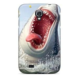 For Galaxy S4 Fashion Design Funny Shark Illustration Case-cnkLpus2967ksxlV