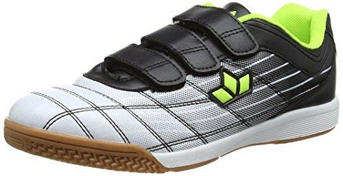Lico Unisex-Erwachsene Rockfield V Multisport Indoor Schuhe Weiß (Weiss/Schwarz/Lemon Weiss/Schwarz/Lemon)