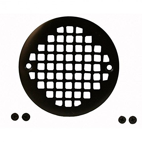 Jones Stephens Oil Rubbed Bronze 4-1/4 Round Cast Brass Heavy Duty Strainer