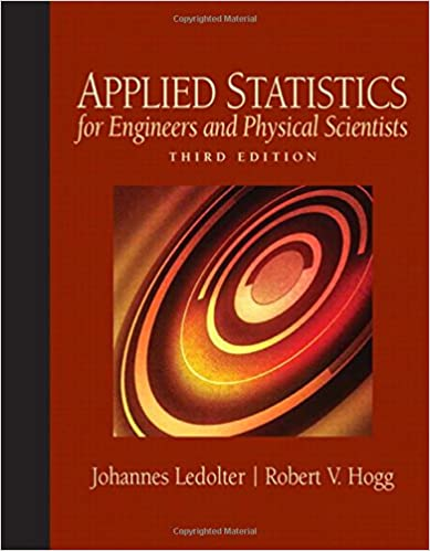 Amazon applied statistics for engineers and physical scientists amazon applied statistics for engineers and physical scientists 3rd edition 9780136017981 johannes ledolter robert v hogg books fandeluxe Image collections