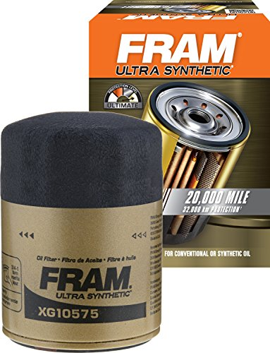 FRAM XG10575 Ultra Synthetic Spin-On Oil Filter with SureGrip (The Best Synthetic Motor Oil On The Market)