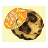 Skins Ball Leopard Dog Toy Size: Small, My Pet Supplies