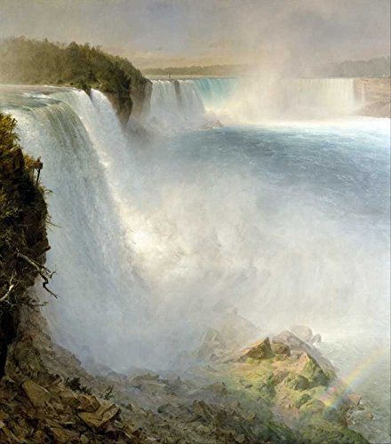 The Museum Outlet - Art Postcard - Church - Niagra Falls from the American side - Set of 12 - Niagra Falls Outlet