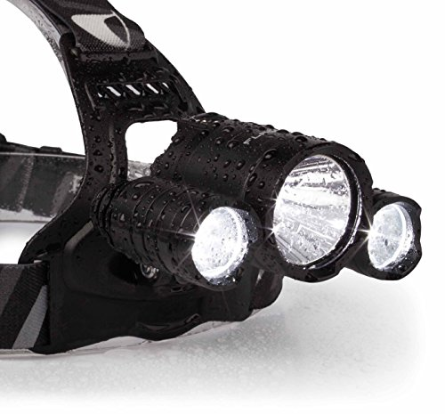 Flagship X Nighthawk USB Rechargeable Waterproof LED Camping Headlamp Flashlight For Running
