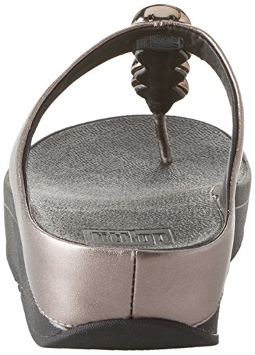 FitFlop Womens Rola Thong Sandals Pewter RIlRLpuN