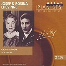 V1 Josef And Rosina Lhevinne