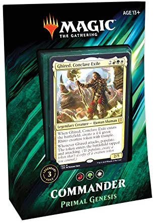 Magic The Gathering Commander 2019 Primal Genesis Foil Ghired Conclave Exile MTG
