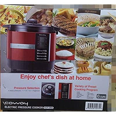 Image of Coway RCP-10RA All in One Electric Pressure Cooker