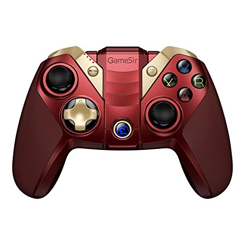 GameSir M2 MFi Wireless Gamepad iOS Gaming Controller Compatible for Apple TV, iPhone, iPad, iPod touch, Mac – Red