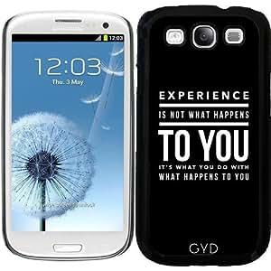 Funda para Samsung Galaxy S3 (GT-I9300) - Experiencia by wamdesign