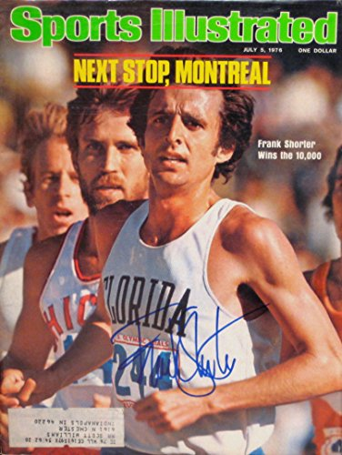 Shorter, Frank 7/5/76 autographed magazine
