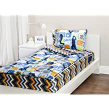 Zipit Bedding Set, Extreme Sports - Twin - Zip-Up Your Sheets and Comforter Like a Sleeping Bag! by Zipit Bedding