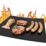 MMMAT Grill Mat - 100% Grill Mats Non Stick Heavy Duty 600 Degree - BBQ Grill Accessories/Grill Cleaner/Oven Liner