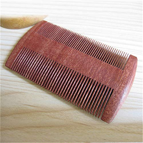 LZIYAN Densities Teeth Wooden Hair Comb Anti-Static Double Tooth Comb Portable Straight Hair Comb For Men And Women by LZIYAN (Image #7)