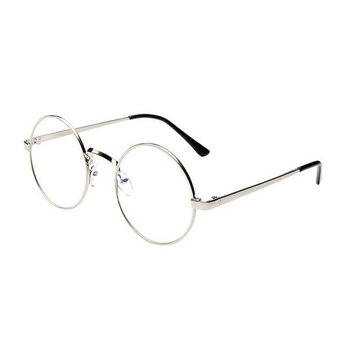 Gafas de Sol Mujer, ❤️Xinantime Hombres Mujeres Gafas Transparente 2018 Moda Espejo de marco de metal clásico unisex de…