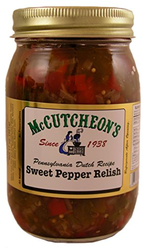 (McCutcheon`s Sweet Pepper Relish)