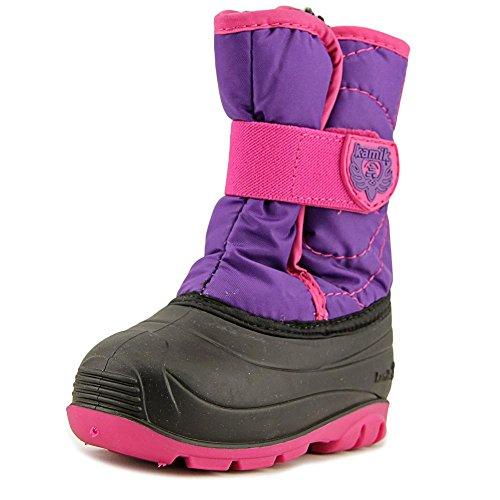 Kamik Children's Snow Boots (Kamik Girls' Snowbug3 Snow Boot, Purple/Magenta, 8 Medium US Toddler)