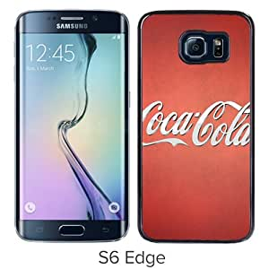 Grace Protactive CocaCola Ad Black Case Cover for Samsung Galaxy S6 Edge