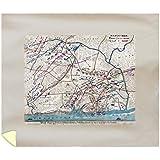 Battle of Shiloh - Civil War Panoramic Map (88x104 King Microfiber Duvet Cover)