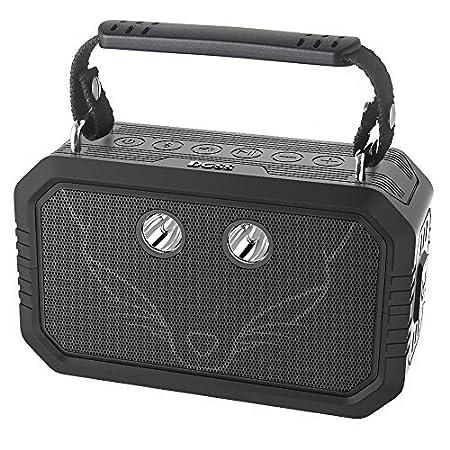 DOSS Traveler Bluetooth Lautsprecher mit 20W Stereo Sound und Dual-Treiber besserem Bass IPX6 Wasserdicht Drahtlos Soundbox m