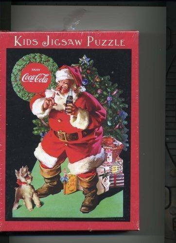 Coca Cola/Santa Claus 60 Piece Kids Jigsaw Puzzle - Cute for Kids