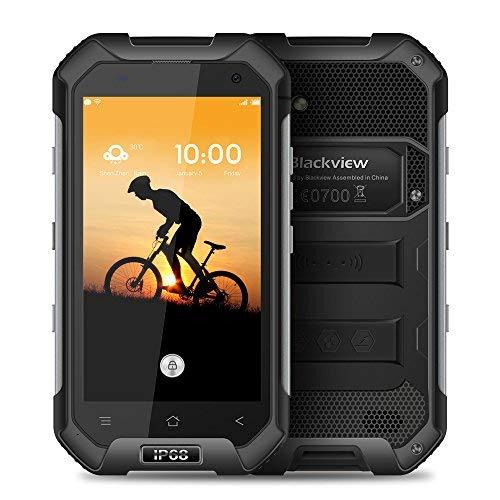 Blackview BV6000 Tri-prueba Smartphone IP68 Impermeable 4G LTE A Prueba de Choques a Prueba de Polvo (4.7' HD Pantalla 64Bit...