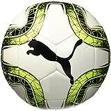 Bola Futebol Campo Puma Final 6 MS (Branco e Verde)