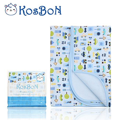 Kosbon Extra Large  Infant Baby Deluxe Flannel And Bamboo