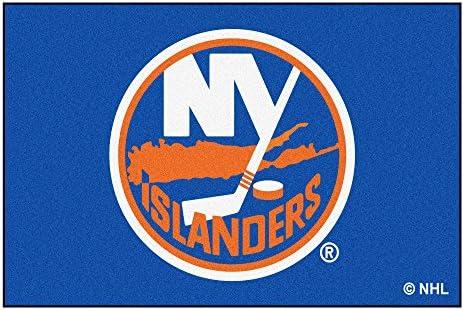 FANMATS NHL New York Islanders Nylon Face Ultimat Rug