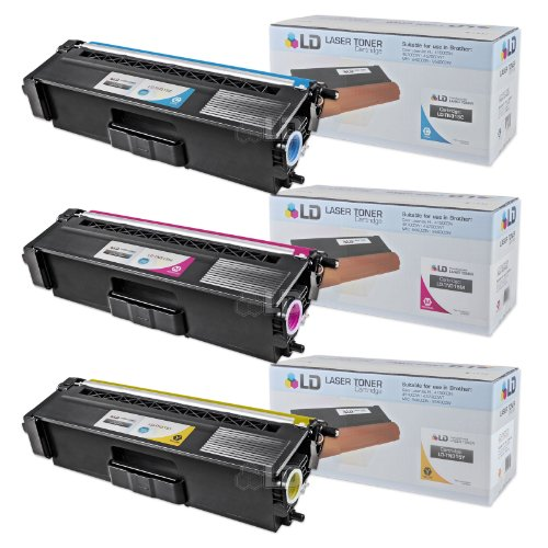 LD © Brother Compatible TN-315 Set of 3 High Yield Color Toner Cartridges: 1 (Cyan/Magenta/Yellow) for use in HL-4150cdn, HL4570cdw, HL-4570cdwt, MFC-9460cdn, MFC-9560cdw and MFC-9970cdw Printers, Office Central