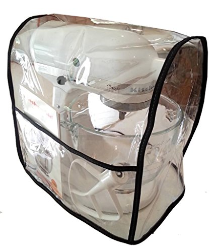 Best Mixer Cover For Tilt-Head Stand, Artisan and Classic Mixers - Z-Cover , Clear - Black Trim (Appliance Dust Covers compare prices)
