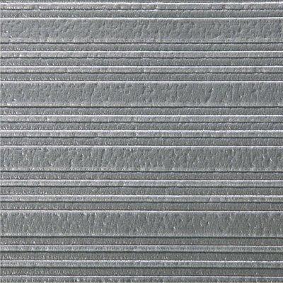 Ribbed Anti-Fatigue Mat, Vinyl, 36 x 60, Gray, Sold as 1 Each