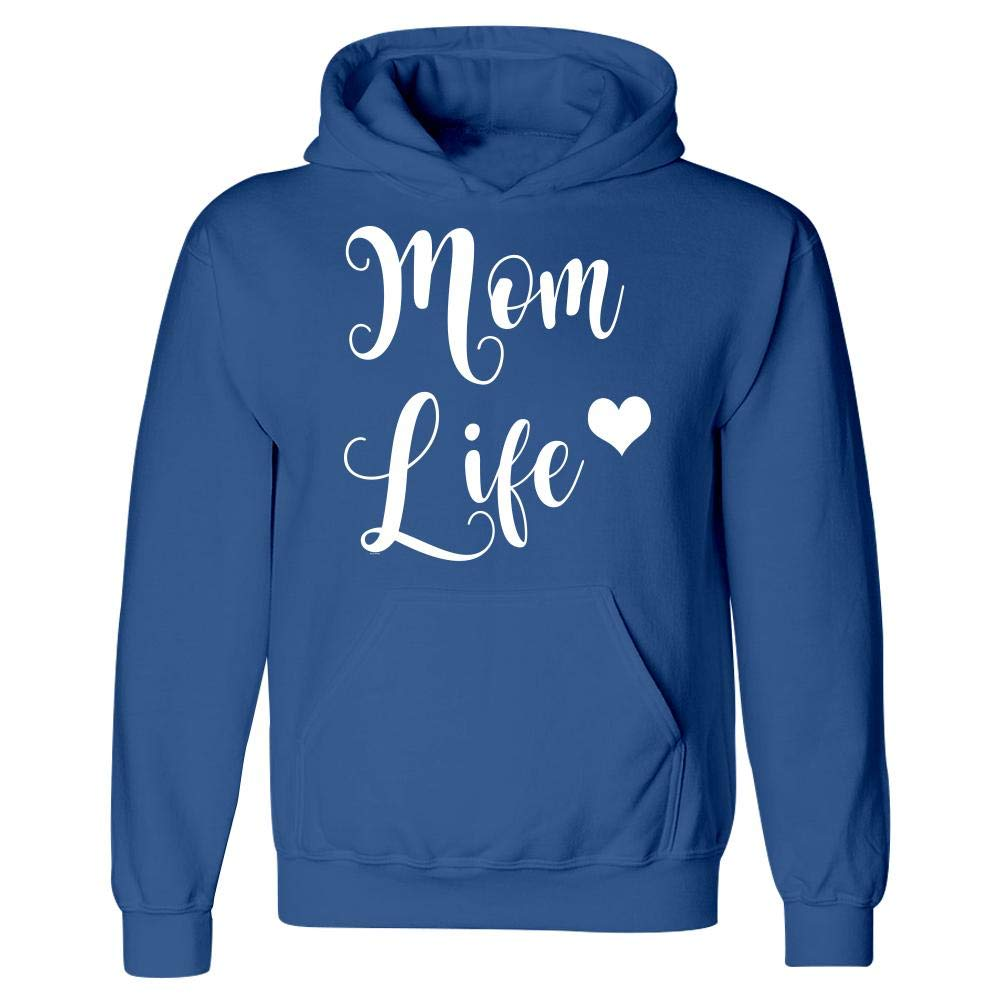 BADASS REPUBLIC Best Mom Life from Son or Daughter Hoodie