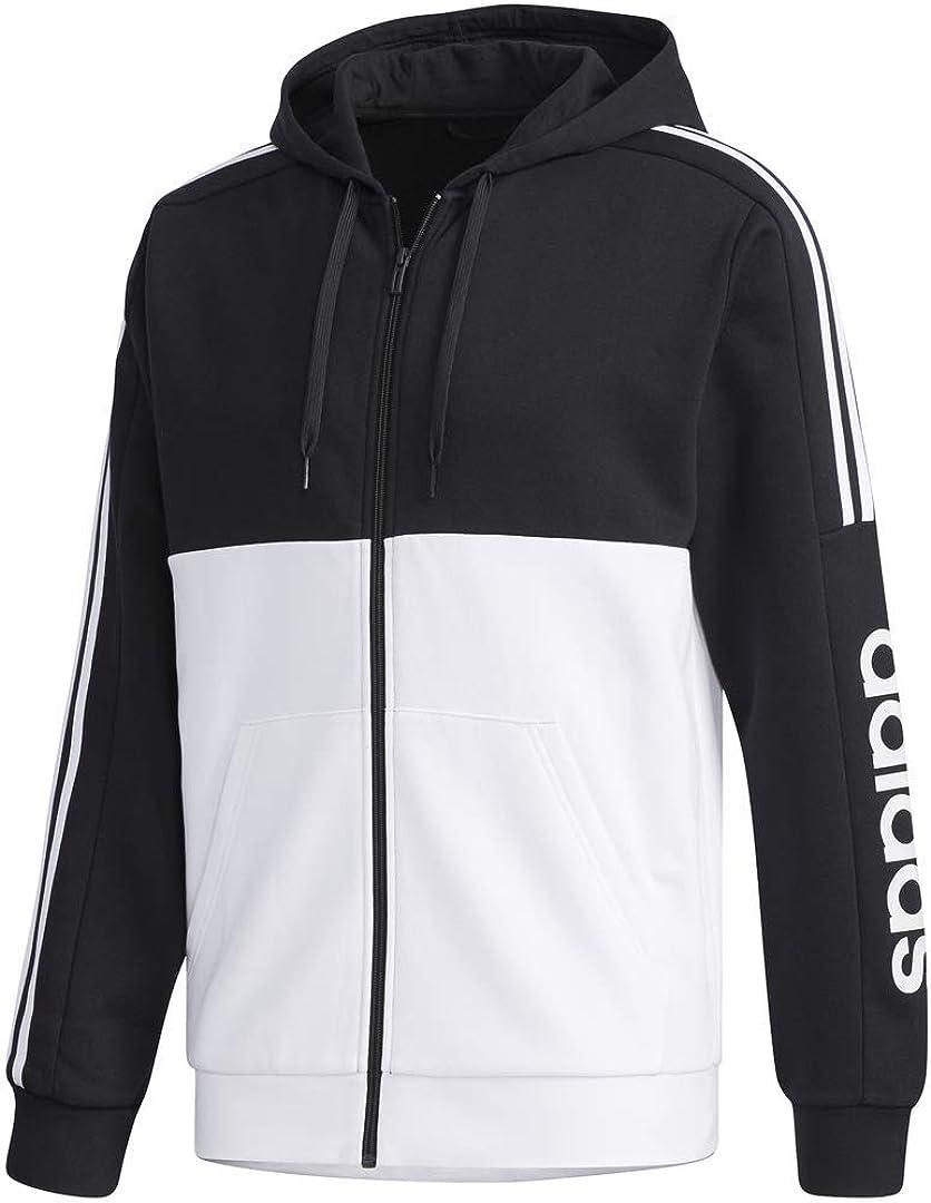 adidas mens Essentials Colorblock Track Top: Clothing